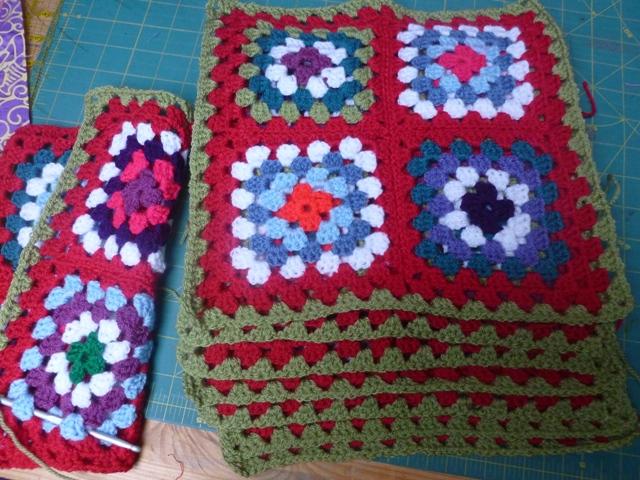 WIP crochet blanket