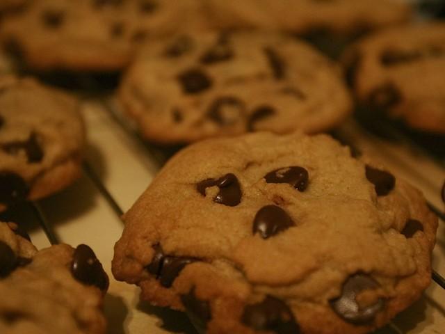 Biscotti Dukan con Gocce di Cioccolato