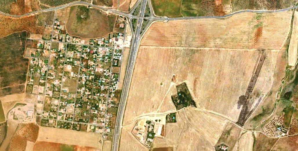 antes, urbanismo, foto aérea, desastre, urbanístico, planeamiento, urbano, construcción,La Celada, Sevilla