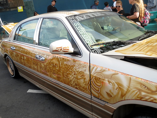 Aztec Car Art