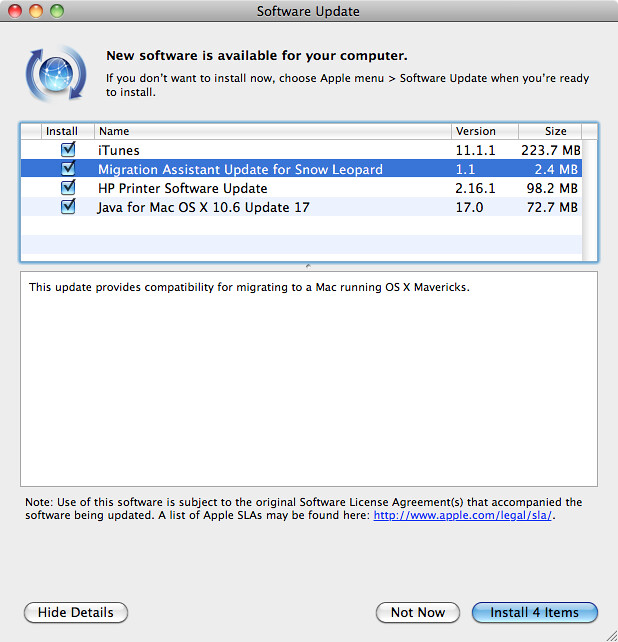 Software Update: Migration Assistant Update for Snow Leopa… | Flickr