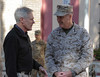 SECNAV visits Headquarters, ISAF
