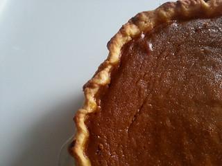 Deep Dish Pumpkin Pie using America's Test Kitchen's Fool Proof Pie Dough