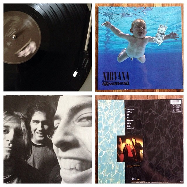"301113_ #np ""Nevermind"" by Nirvana #vinyl"