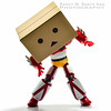 Danbo Transforming Into Getter. by Randy Santa-Ana