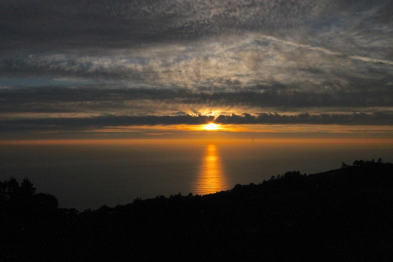 Sunset in Big Sur