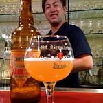 ベルギービール大好き!! グロッテン・ビア Grottenbier@ベルオーブ六本木