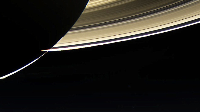 Earth from Saturn 2