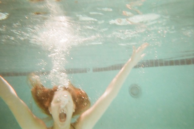 cm under water