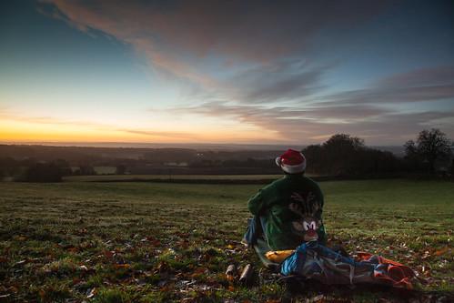 Winter solstice microadventure