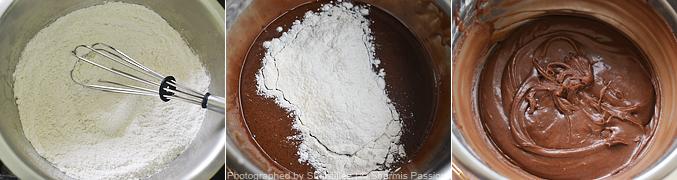 How to  make chocolate crinkle cookies - Step3