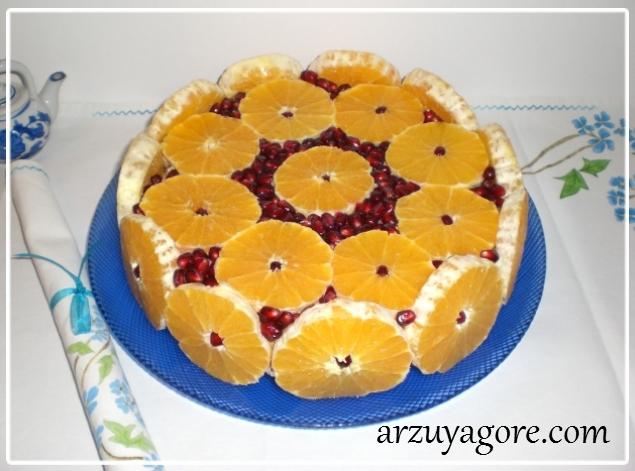 portakallı pasta-1