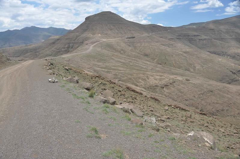 Slow gravel climb