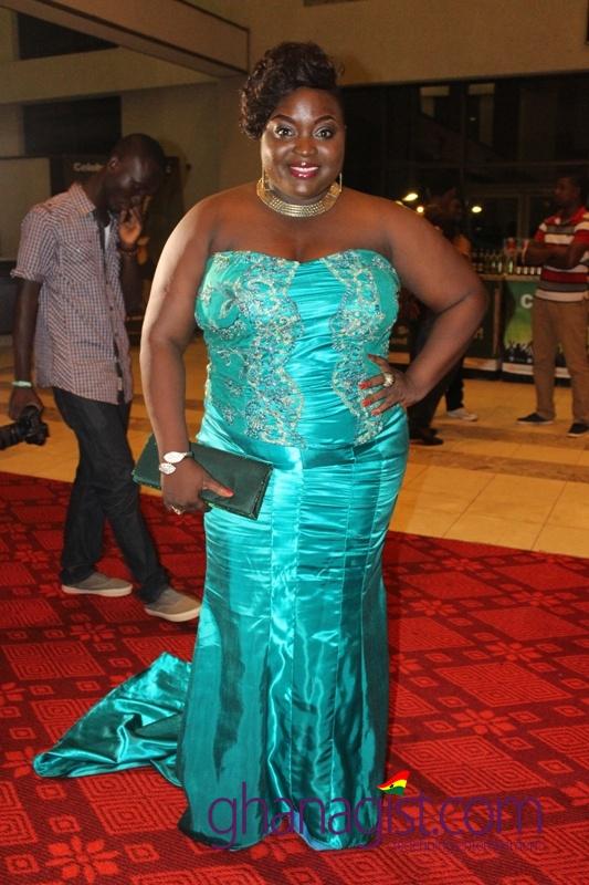 Roselyn Ngissah at Ghana Movie Awards