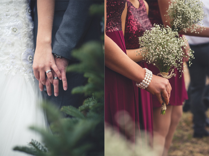 Rings-and-bouquets
