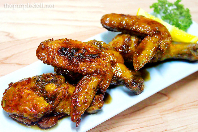 Honey Tamarind Chicken Wings