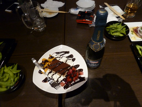 シェフこだわりケーキ&シャンパン in 王の宴