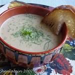 Roasted fennel & Cider soup