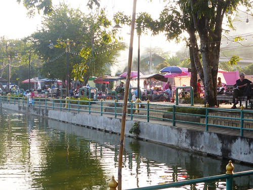 TH-Mae Hong Son-Marche de nuit (1)