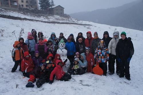 Excursió a la neu 2014