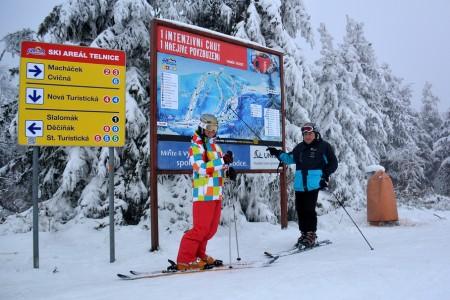 SNOW tour 2013/14: Telnice - jak jsme našli zimu a zrychlenou dvousedačku