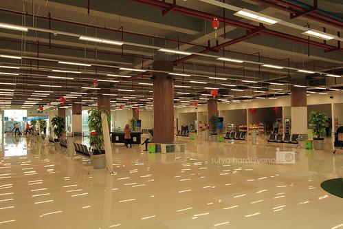 Suasana Interior Stasiun Bandara Kuala Namu, Medan