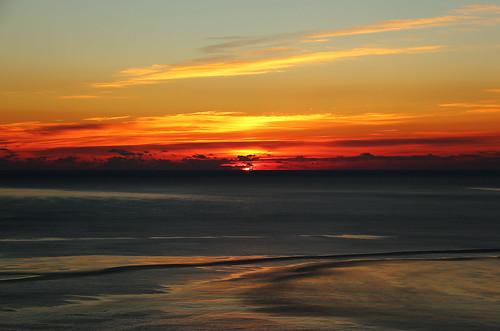 night sunrise cloudy stjohns signalhill nfld newfoundlandlabrador