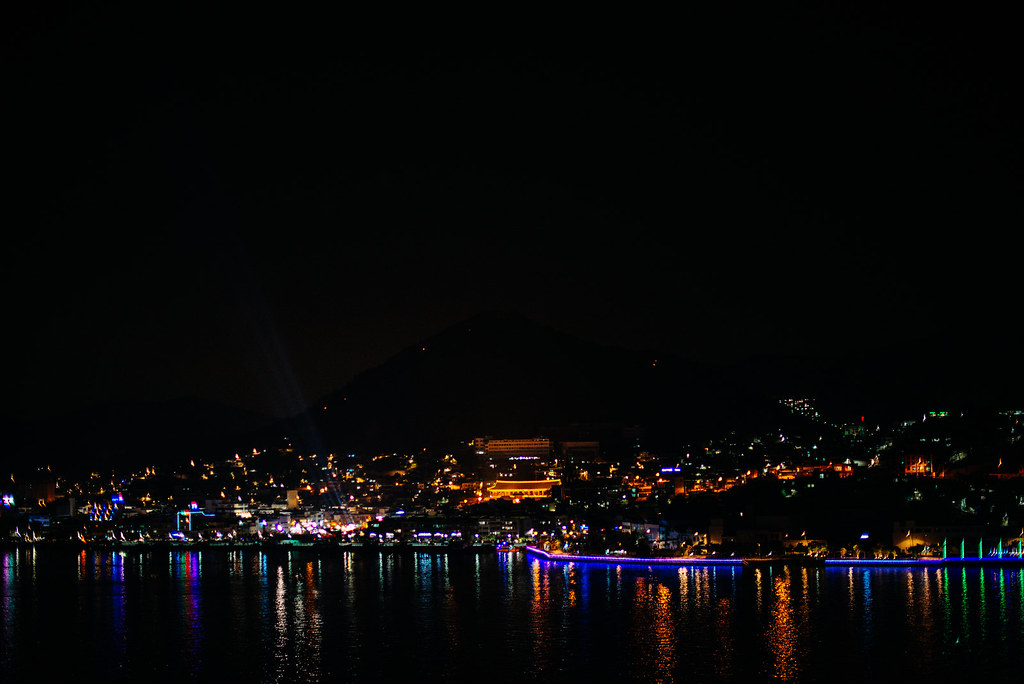 Yeosu at night