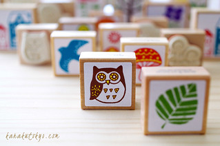 Lovely nordic rubber stamp