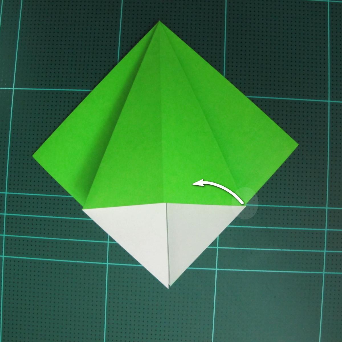 วิธีพับกระดาษเป็นจรวด X-WING สตาร์วอร์ (Origami X-WING) 009