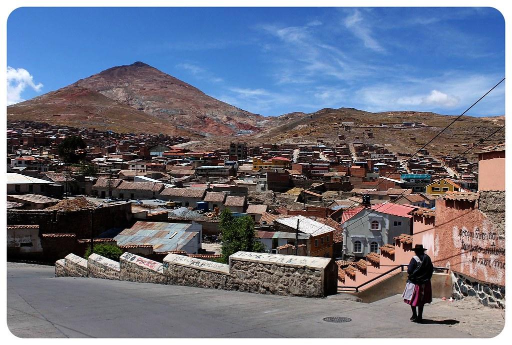 potosi with cerro rico mountain
