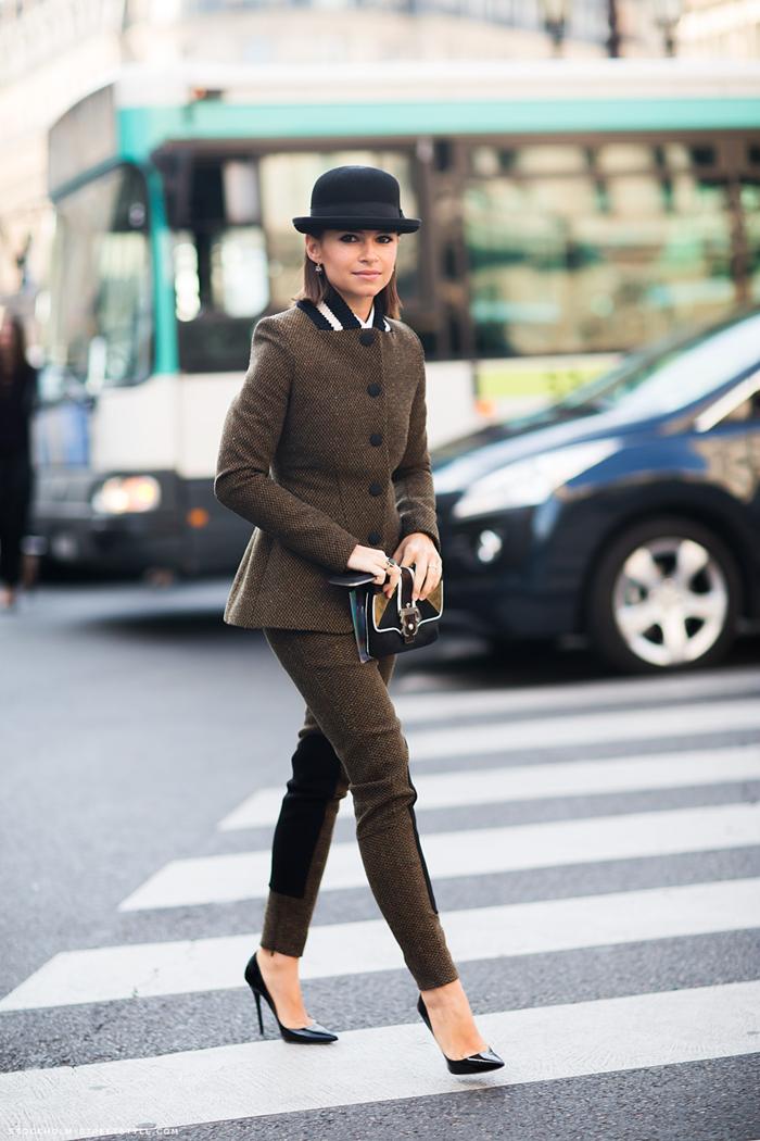 petite fashion editor street style