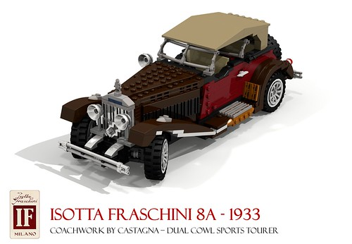 Isotta Fraschini 8A Dual-Cowl Sports Tourer 1933
