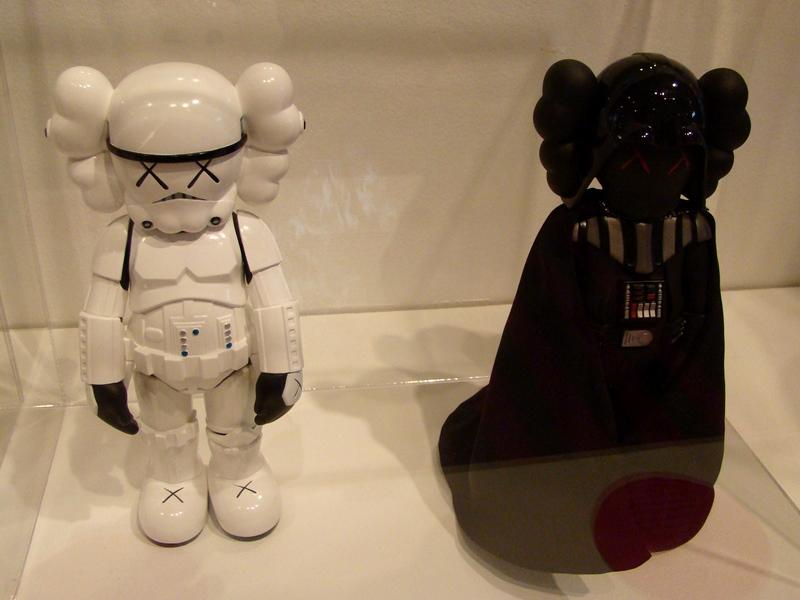 KAWS Stormtrooper Darth Vader