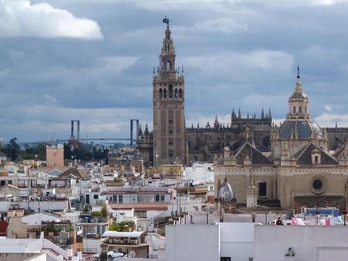 Vistas de Sevilla desde las setas