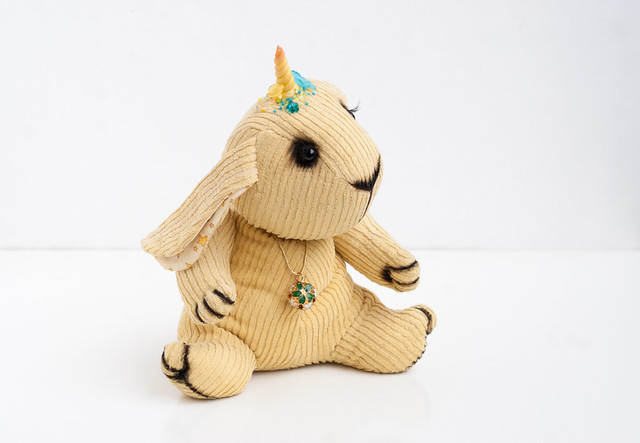 yellow bunny unicorn
