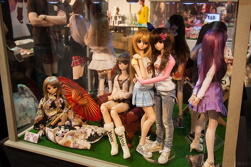 Dollfie Dream on display at the Shadonia booth at Made in Asia 6