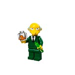 LEGO Simpsons Minifigures - Mr Burns