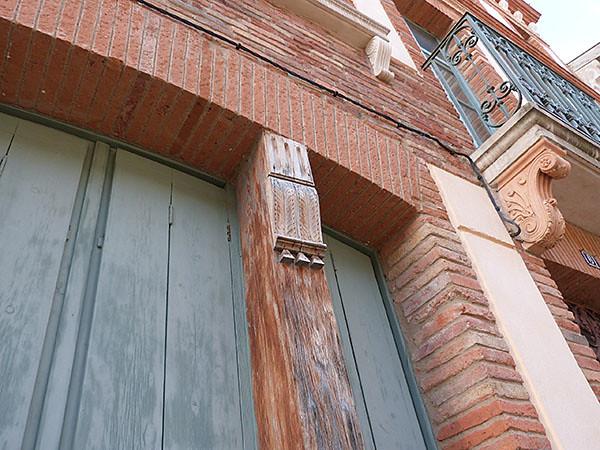 détail façade grenade