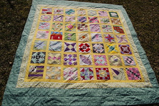 Grandmother´s Choice finished top Little Quilt SVS 002