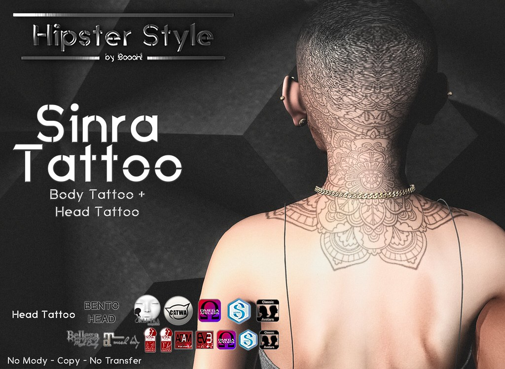 [Hipster Style] Sinra Tattoo_ - SecondLifeHub.com