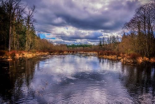 campbellvalleyreginalparkgvrd flooding langley dramaticclouds martinsmith ©martinsmith nikond750 nikkor2485mmf3545gedvr britishcolumbia canada ca gvrd