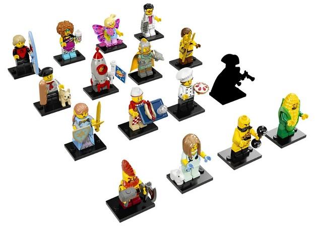 【隱藏人物公開】充滿趣味的【人偶抽抽樂第十七彈】LEGO Minifigures Series 17 驚喜登場!!!