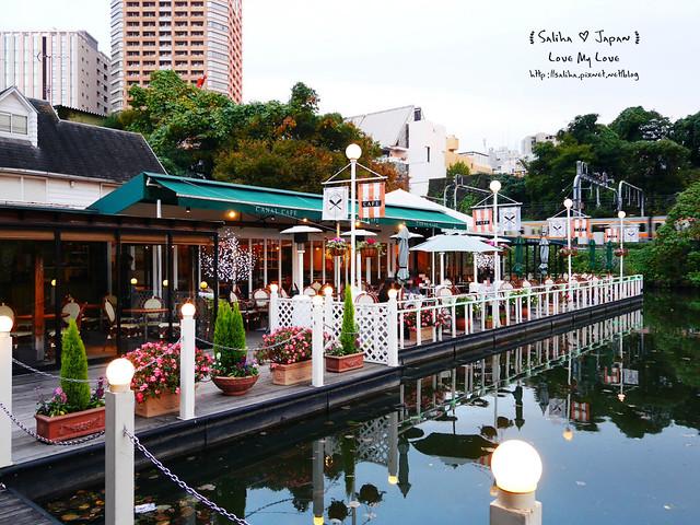 日本東京自由行賞櫻canal cafe水上餐廳 (36)