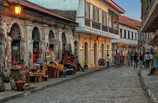 Lucy's Antique Shop at Calle Crisolgo, Vigan - One of The New 7 Wonder Cities of The World