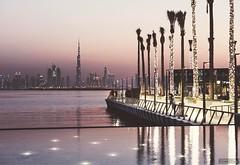 #DubaiCreekHarbour at #dusk  . #DubaiAsISeeIt  . #dubaiphotography #mariemluluphotography #mydxb #RiseDCH #dubaicreek #burjkhalifa #weekendindubai #whattodoindubai #traveluae #discoverdubai #dubaiskyline #discovertheworld #instadaily #instatag #mydubai #d