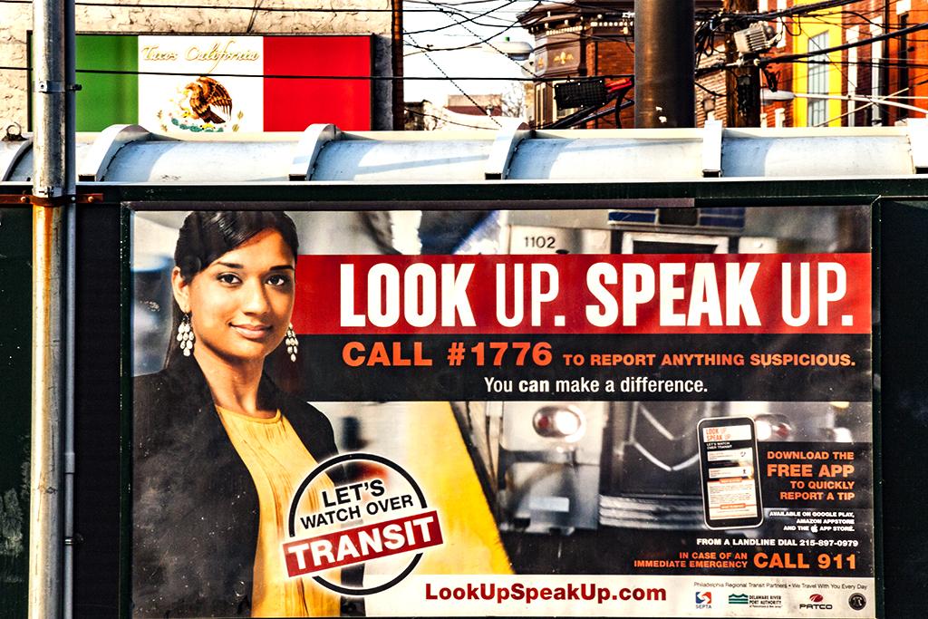 LOOK UP SPEAK UP on 3-21-17--Italian Market