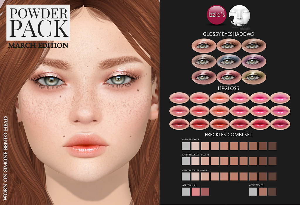 Powder Pack LeLutka March Edition released - SecondLifeHub.com