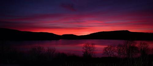 Evening sky between Blacklion & Glenfarne