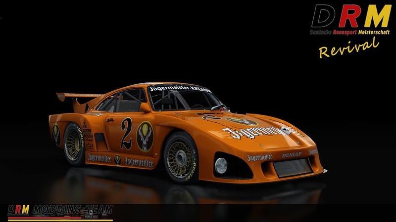 DRM Revival mod - Kremer Porsche K2